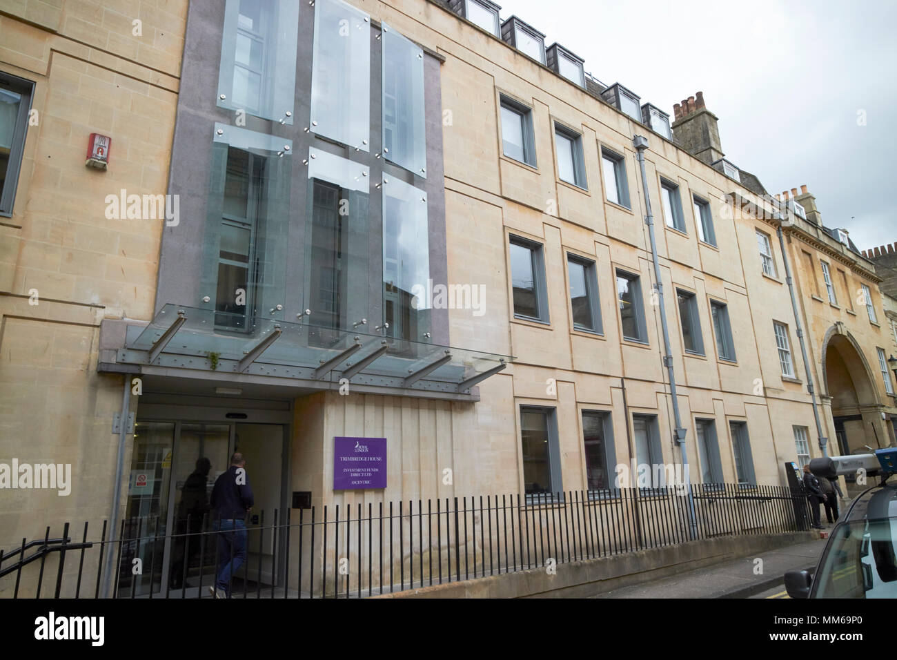 Trimbridge house office building in Bath home to financial services companies royal london ascentric and investment funds direct ltd England UK - Stock Image