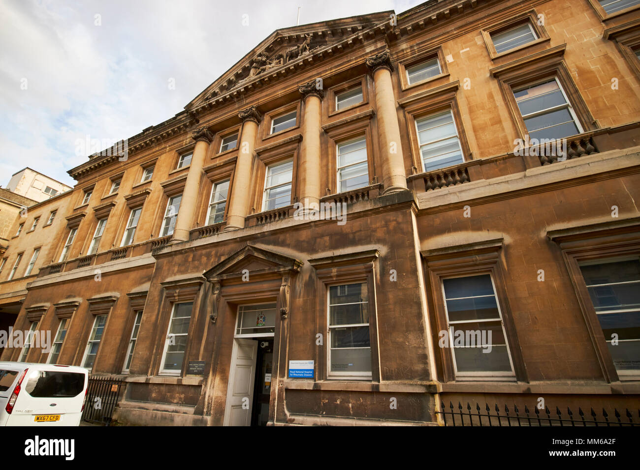 Royal National Hospital for Rheumatic Diseases formerly known as the Royal Mineral Water Hospital Bath England UK - Stock Image