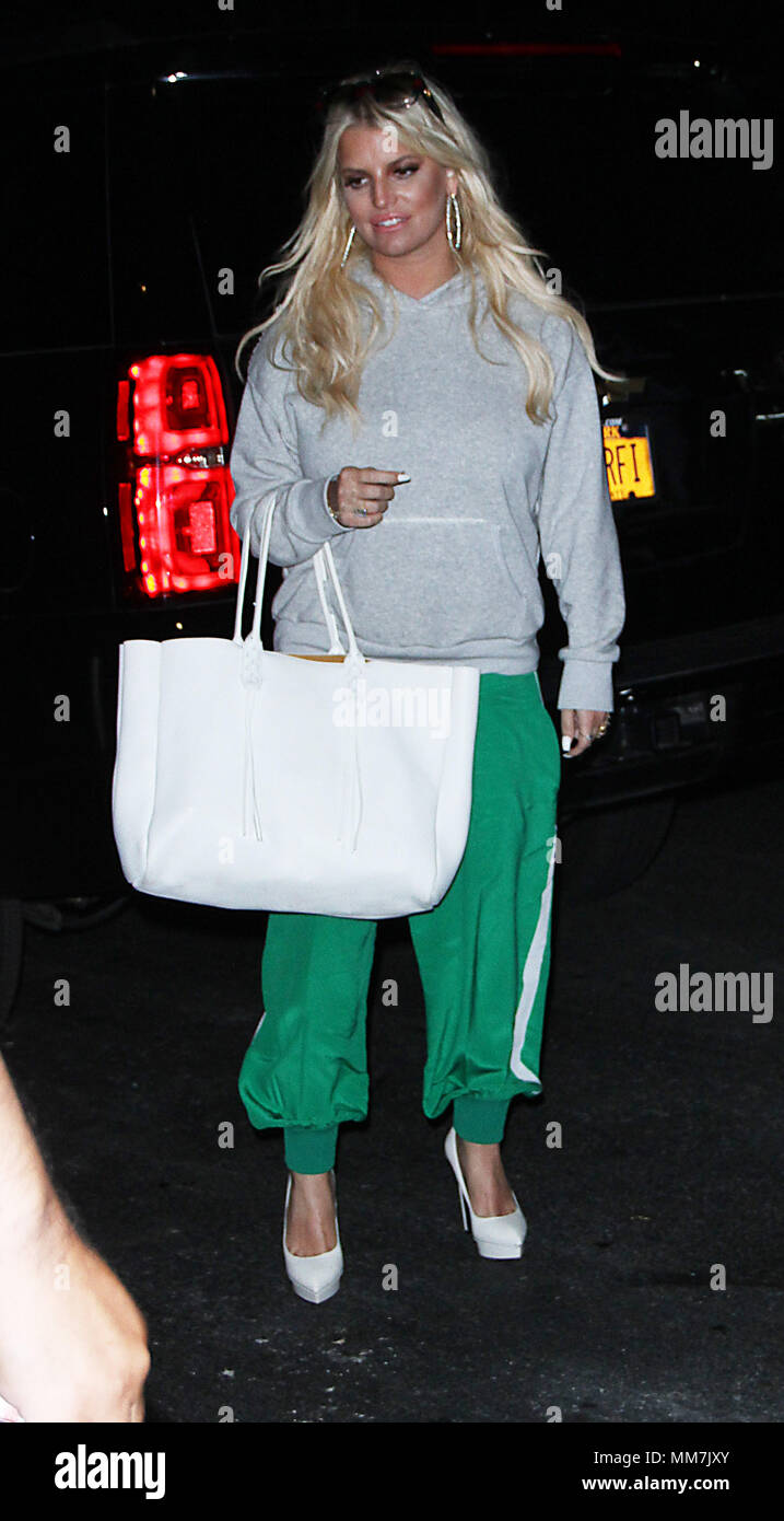 NEW YORK, NY May 09, 2018: Jessica Simpson in New York. May 09, 2018 Credit:RW/MediaPunch - Stock Image
