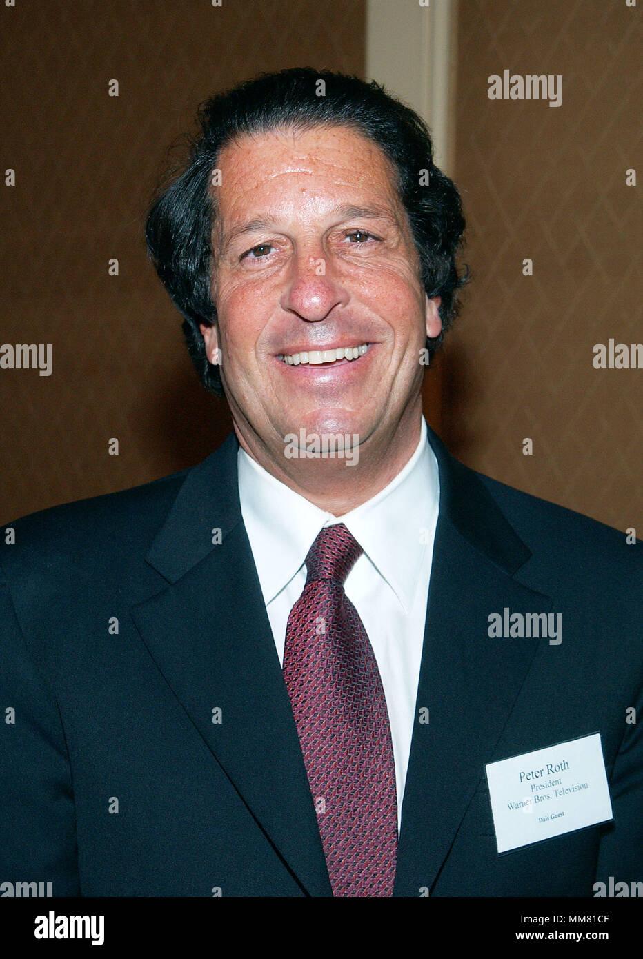Peter Roth (WB) at the Hollywood Radio and Television Society
