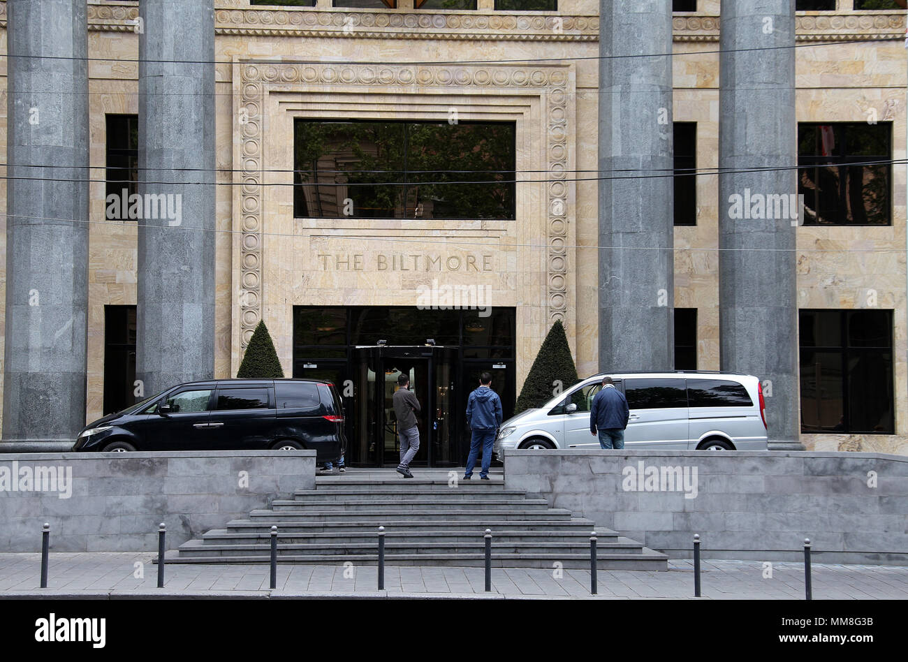 The Biltmore Hotel in Tbilisi - Stock Image