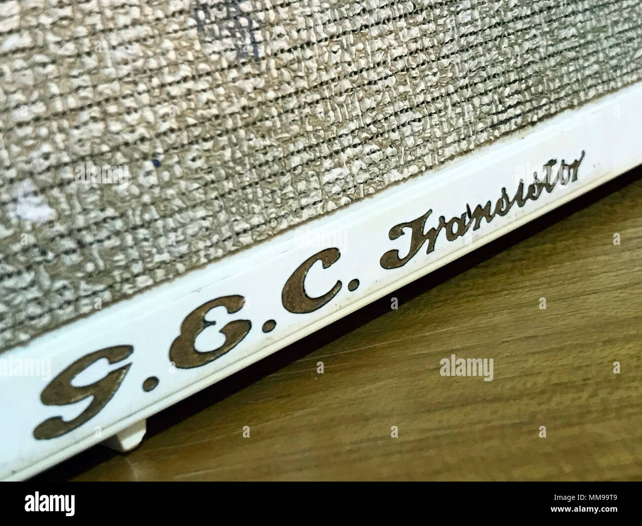 GEC Transistor Solid State Wireless receiver - Stock Image