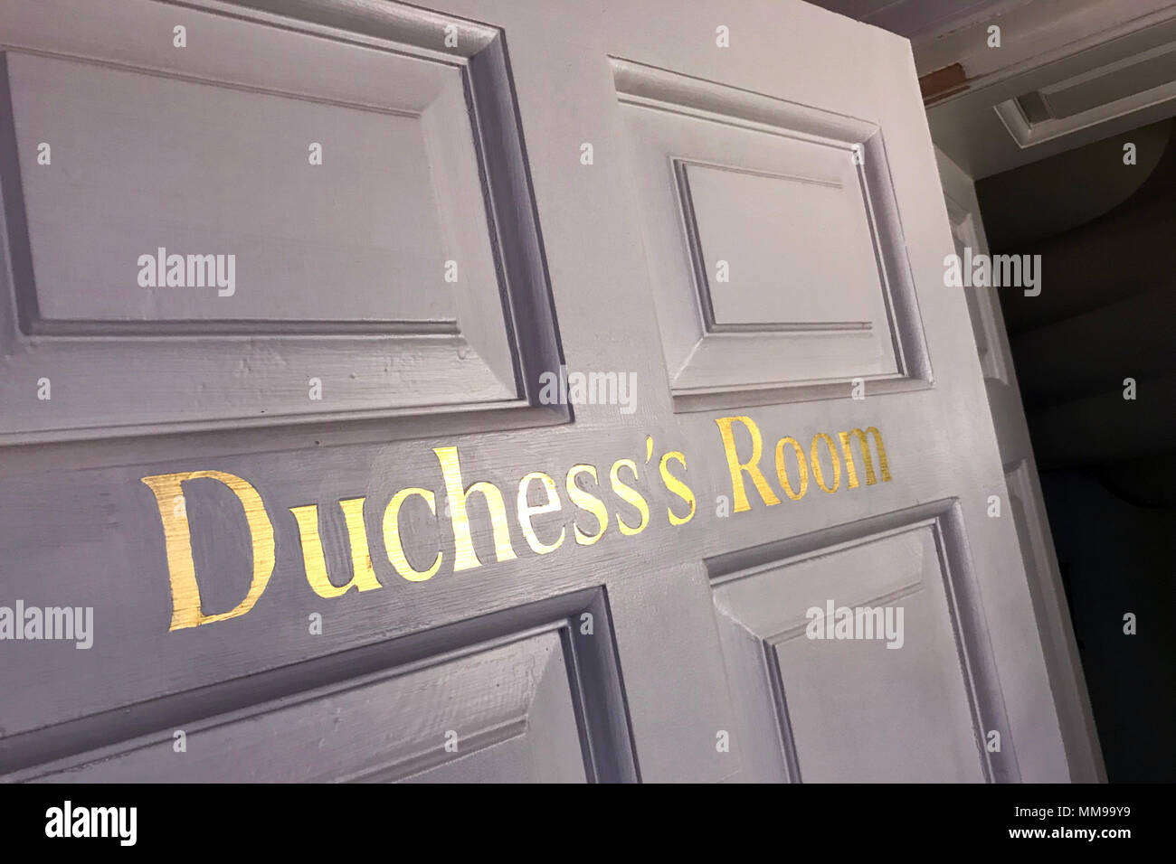 Duchesss Room Chatelherault Country Park, Hamilton,South Lanarkshire, Scotland, UK - Stock Image
