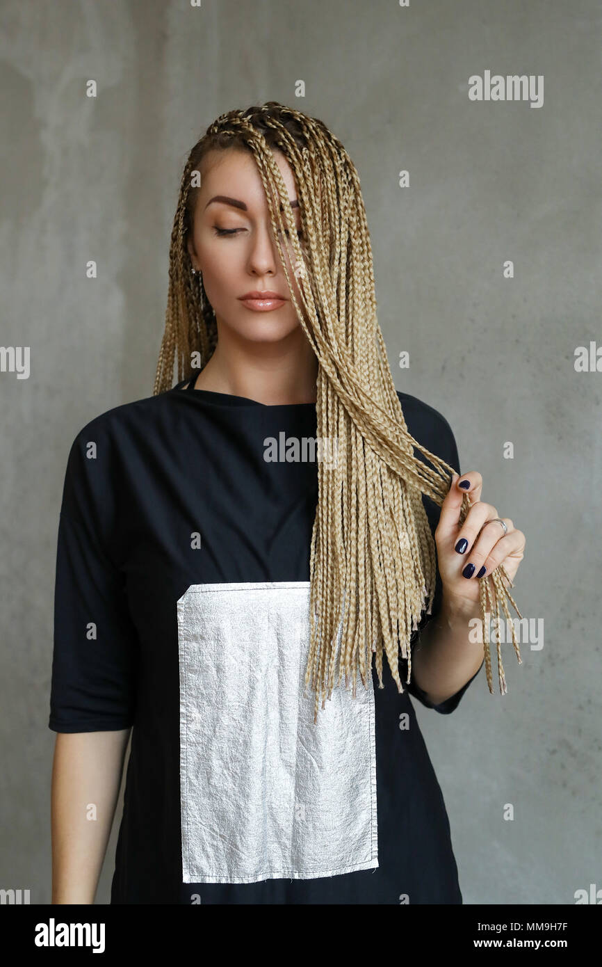 Dreads Dreadlocks Hairstyle High Resolution Stock Photography And