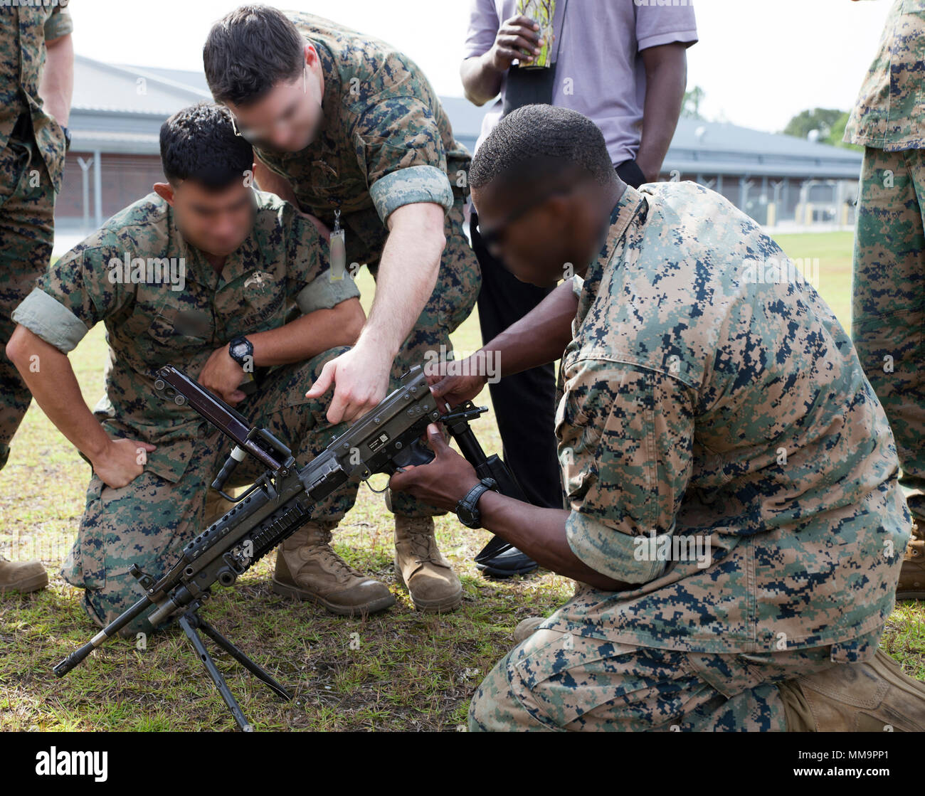 Critical skills operators with U S  Marine Corps Forces