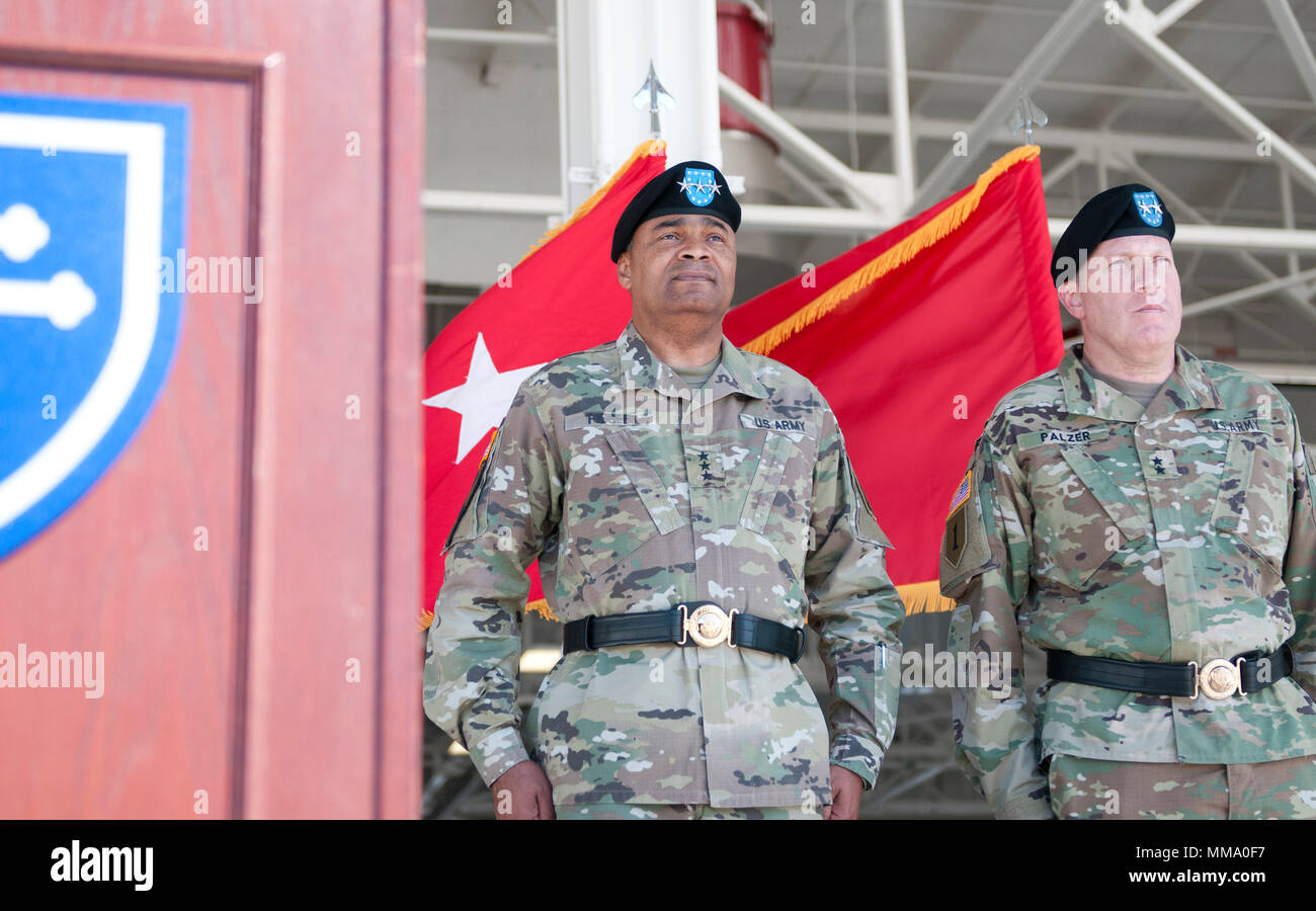 Lt Gen Aundre F Piggee Left Us Army Deputy Chief Of Staff G