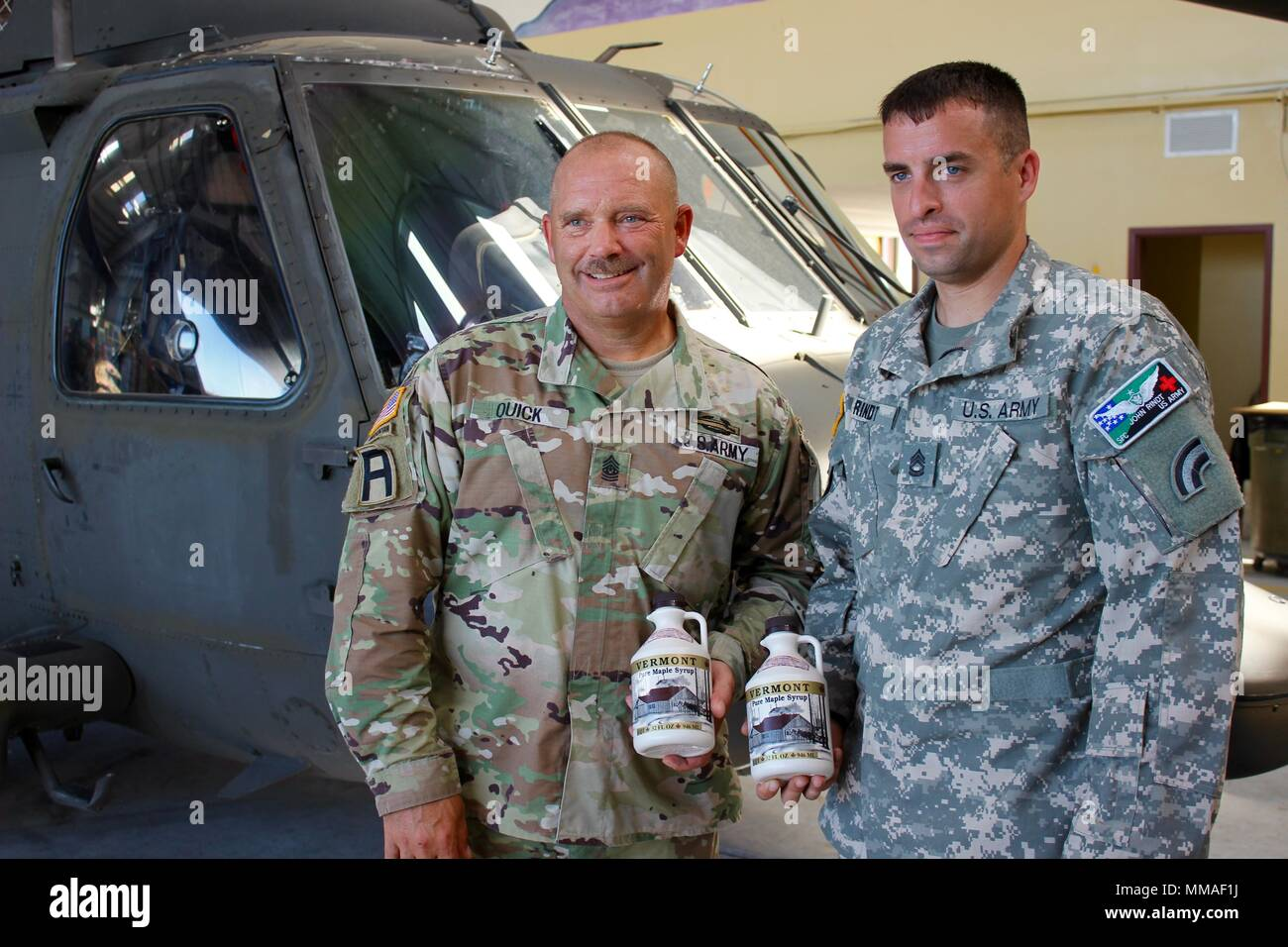 Steven Cray The Adjutant General Of The Vermont National Guard Visits