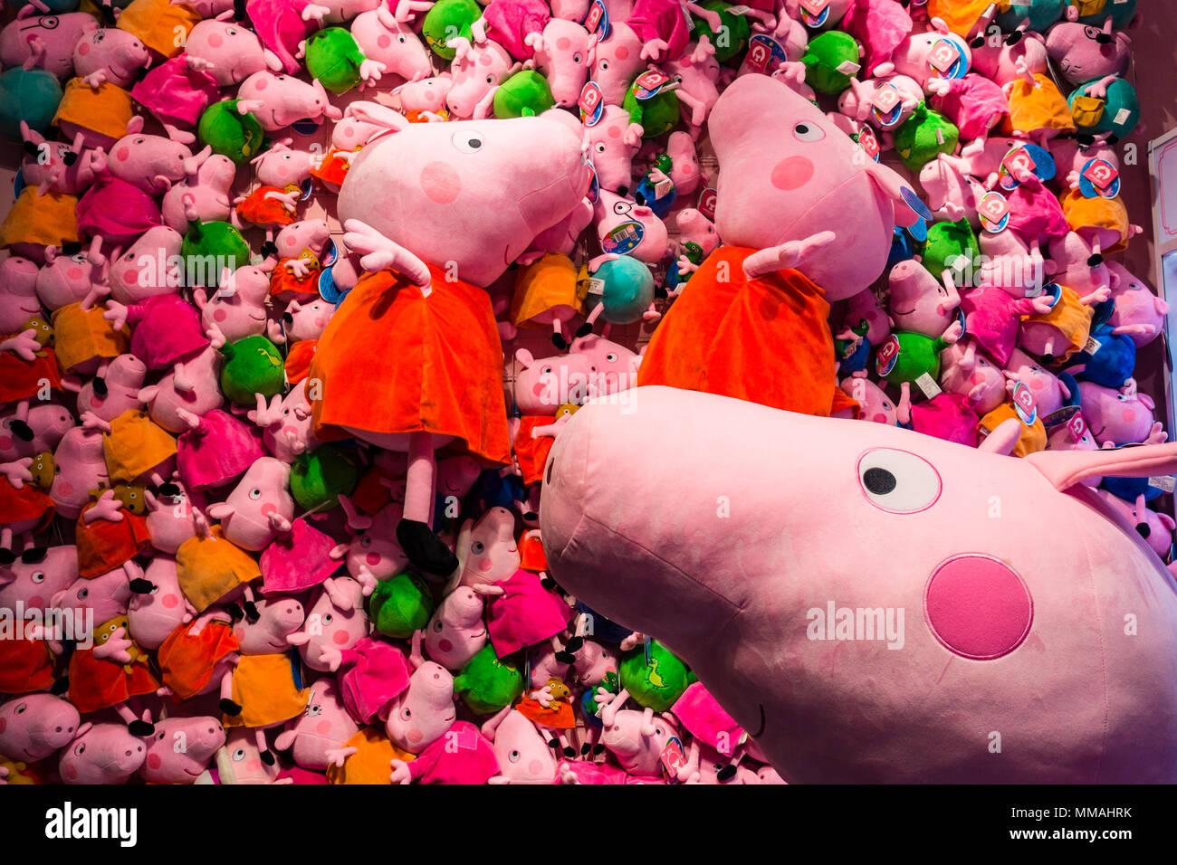 Stuffed Toys Peppa Pig Stock Photos Stuffed Toys Peppa Pig Stock