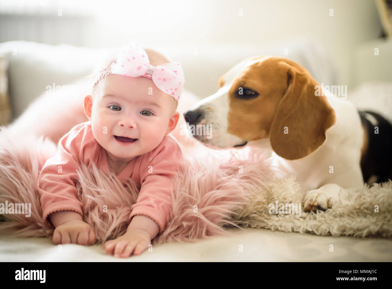 This Sweet Baby Girl and Her Dog Share the Same Rare Birth Defect