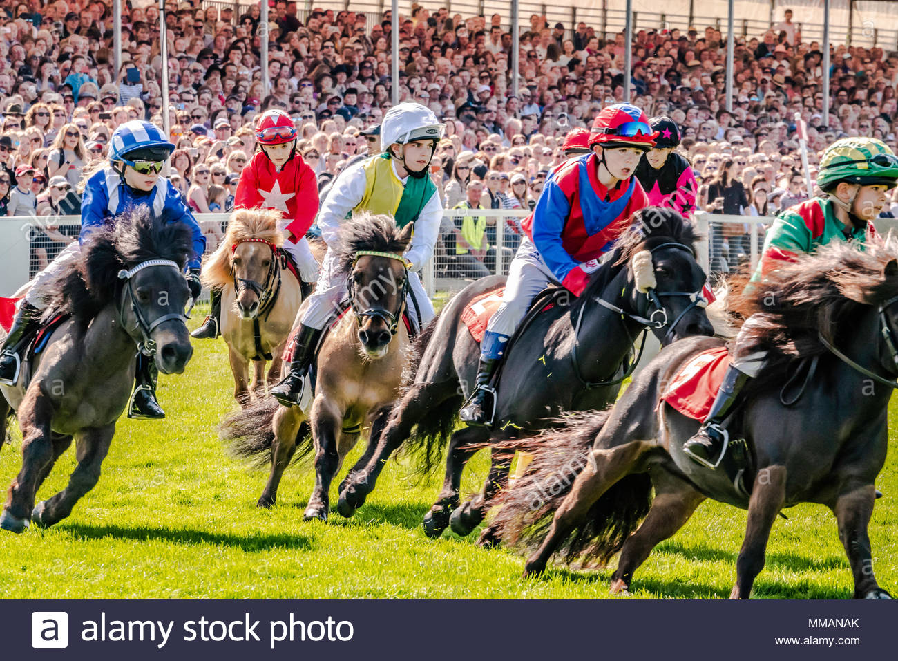 Badminton, Gloucesershire, England, UK. 1st-6th May 2018. The Mitsubishi Motors Badminton Horse Trials. The three-day event, one of only six annual Co Stock Photo