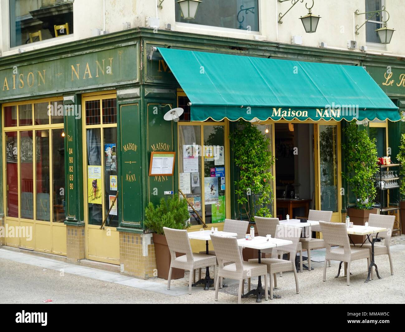 Outdoor Restaurant Terrace Provence High Resolution Stock Photography And Images Alamy