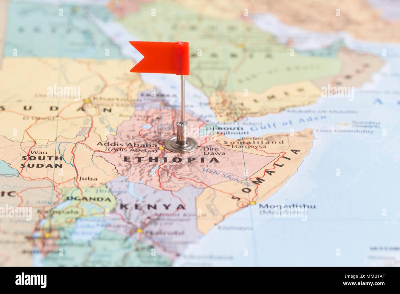 Ethiopia Map Stock Photos & Ethiopia Map Stock Images - Alamy