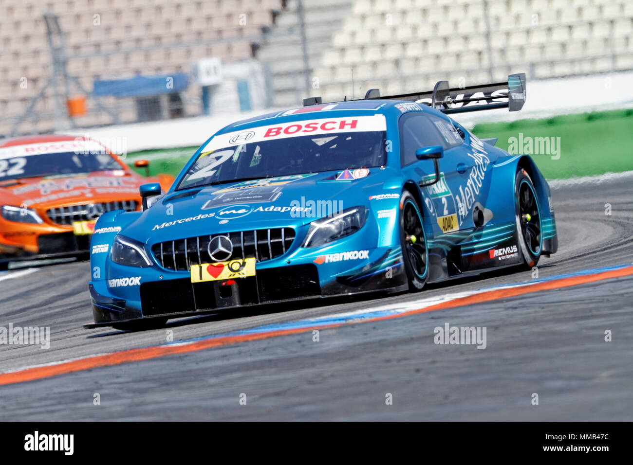 gary paffett gbr mercedes dtm 2018 rennen 1. Black Bedroom Furniture Sets. Home Design Ideas