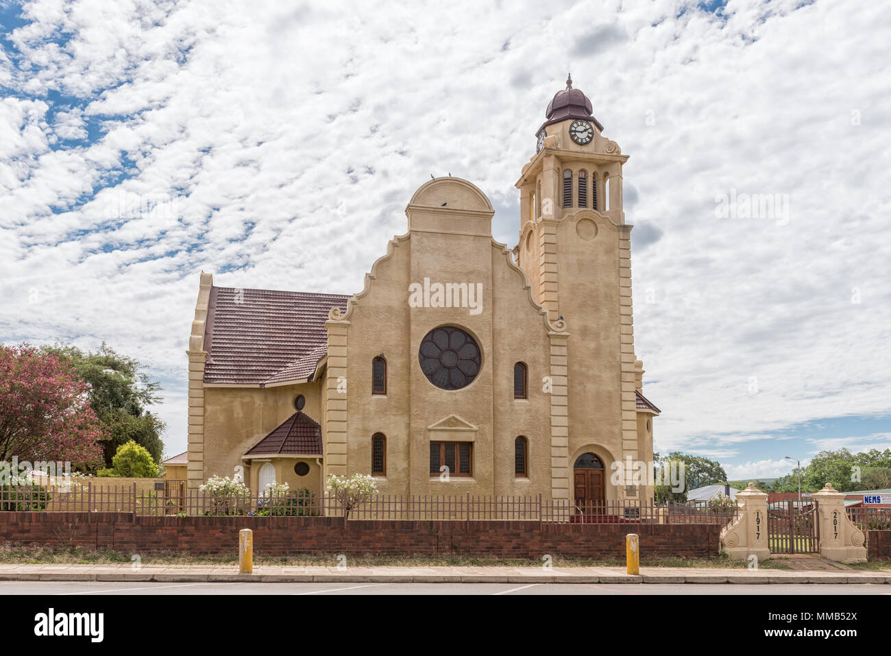 DUNDEE, SOUTH AFRICA - MARCH 21, 2018: The Dutch Reformed Church, in Dundee in the Kwazulu-Natal Province. - Stock Image