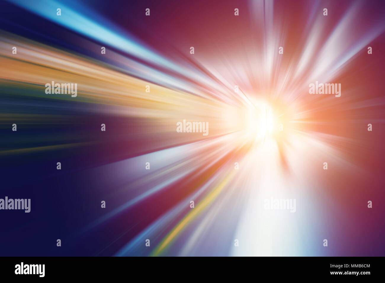 motion blur for fast speed business perform to way out concept abstract for background. - Stock Image