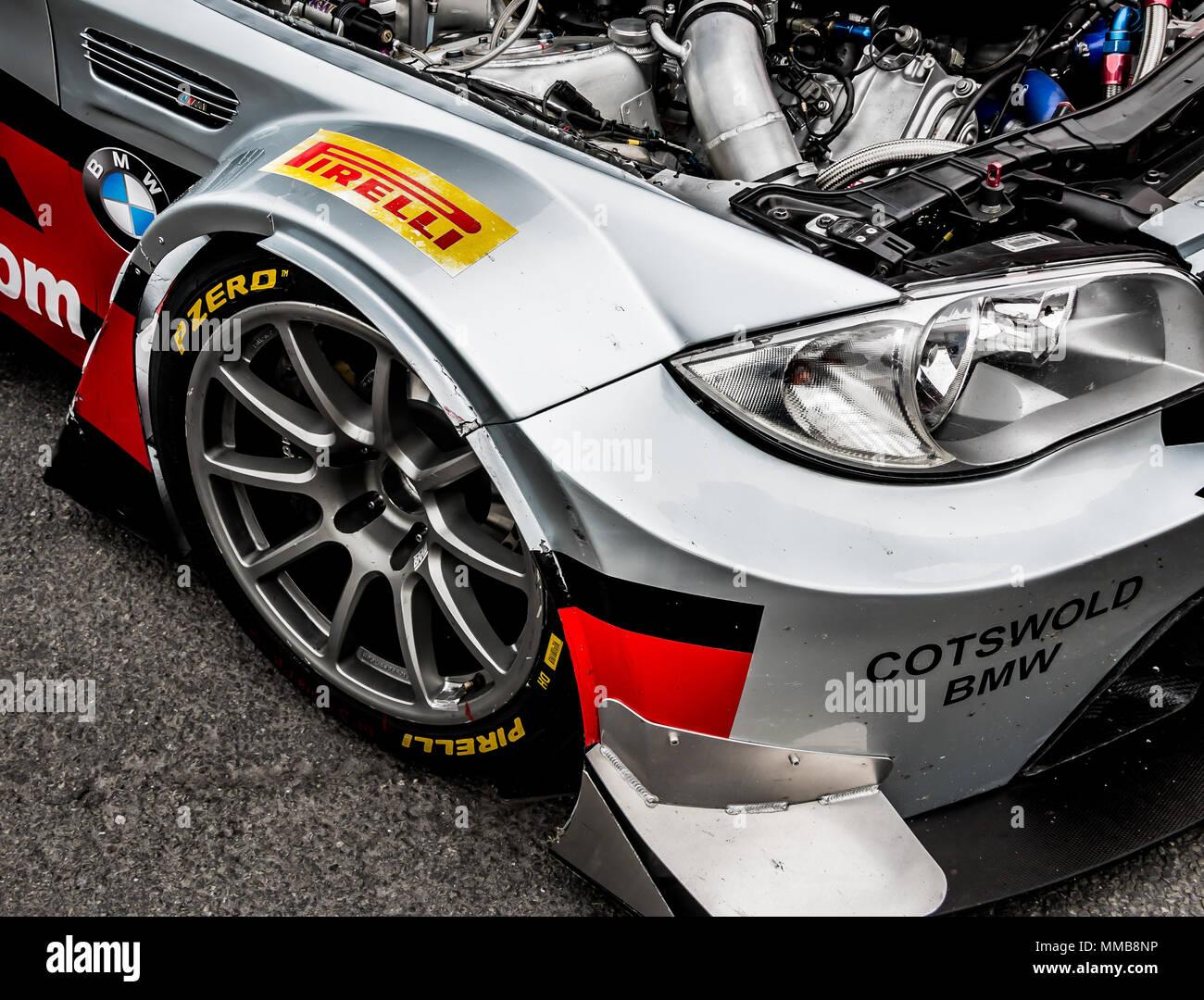 Bmw 1 Series Gt3 Racing Car Stock Photo 184645154 Alamy