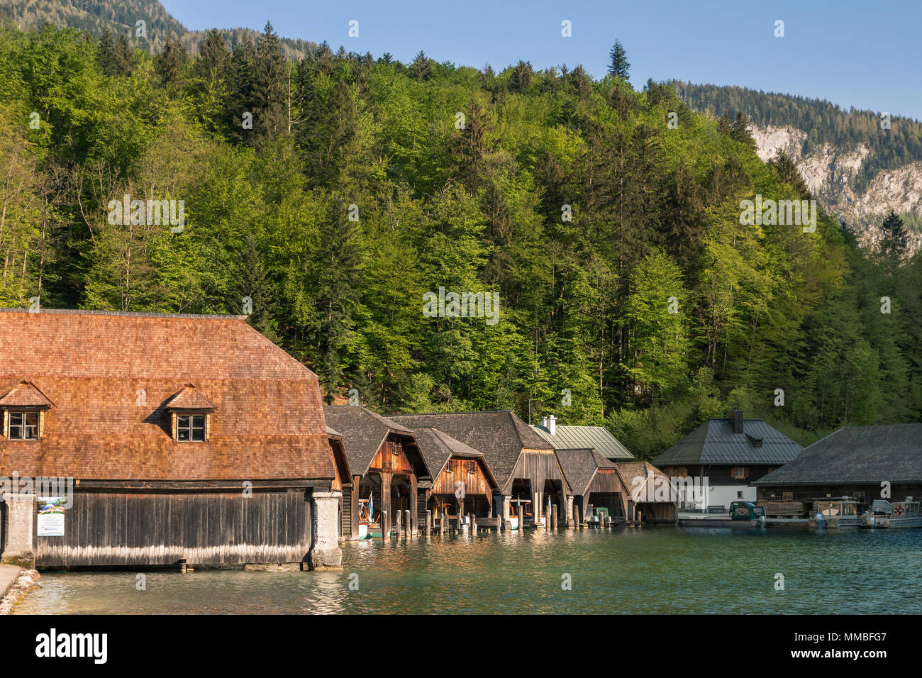 House by the lake - Stock Image