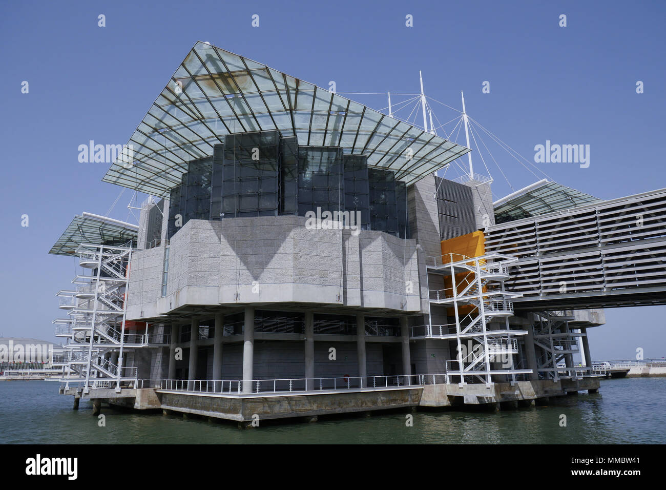 Aquarium, Park of the Nations, Lisbon, Portugal Stock Photo