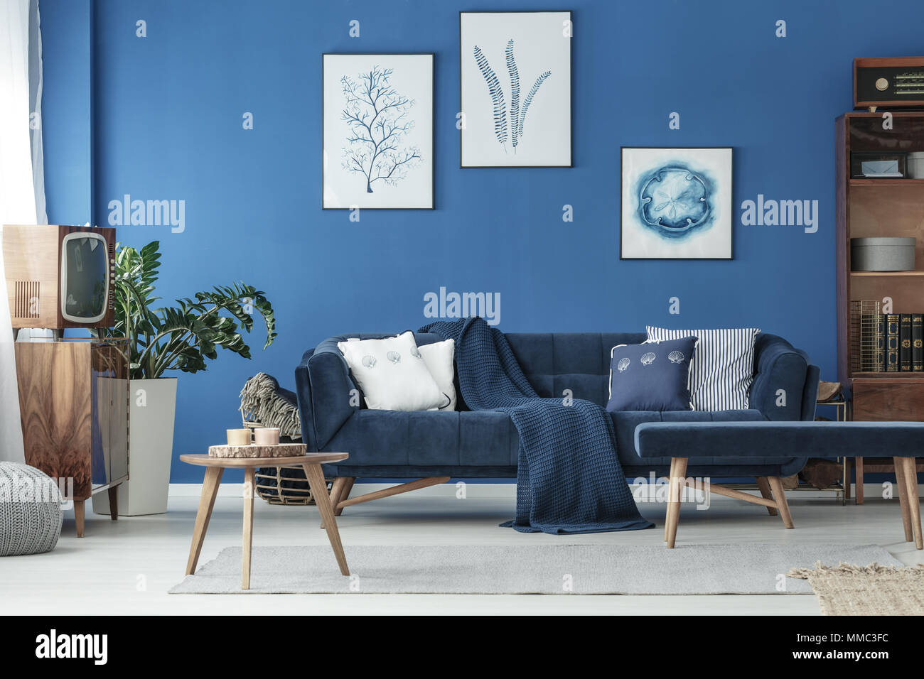 Cyan Interior Design High Resolution Stock Photography And Images Alamy