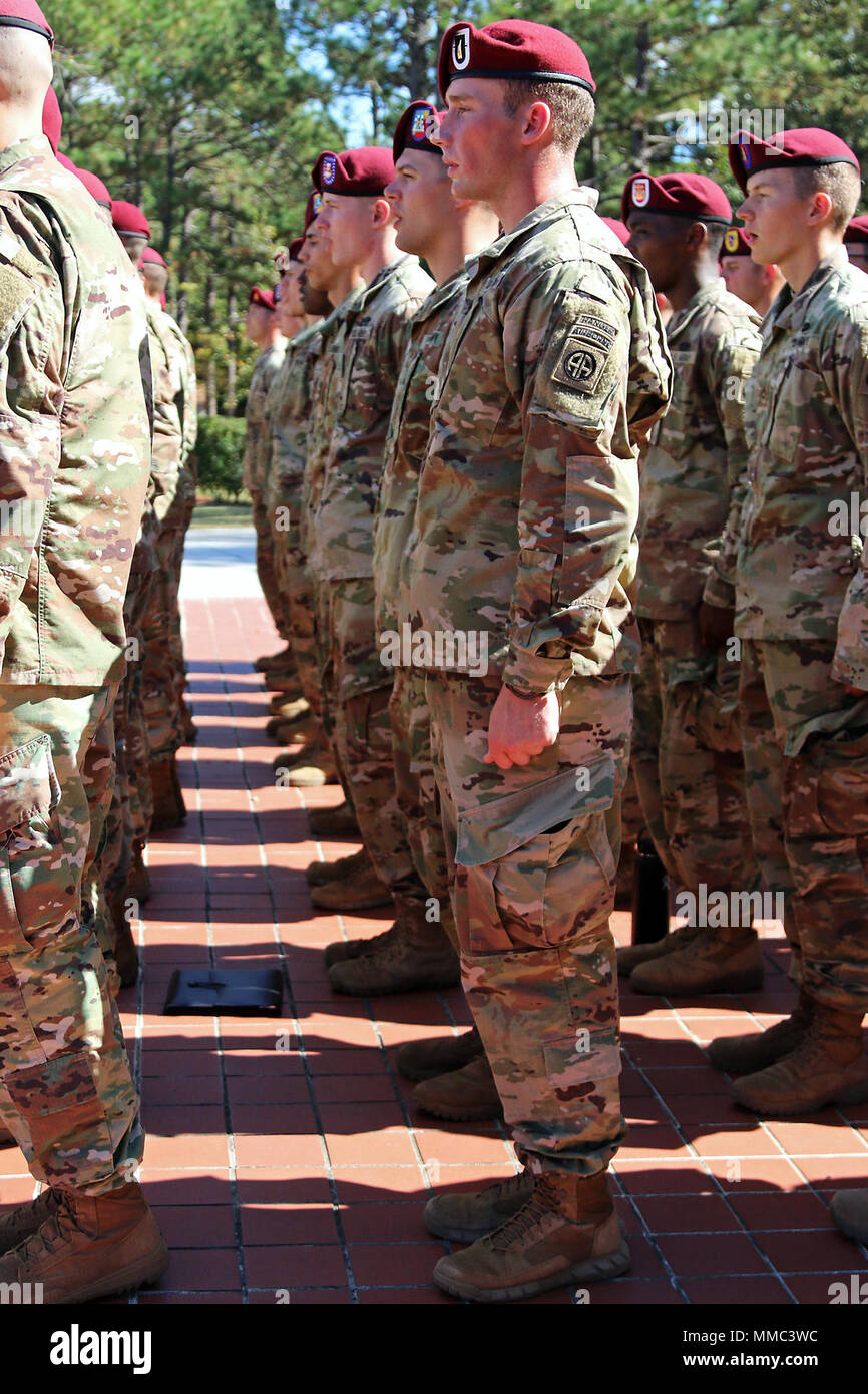 New 82nd Airborne Division Paratroopers sing the unit song