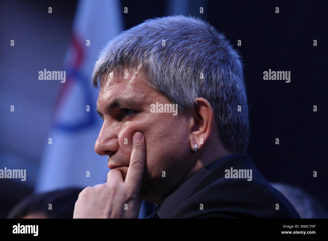 Nichi Vendola in Cassino on 21/5/2011 to support the candidate for mayor Petrarcone - Stock Image