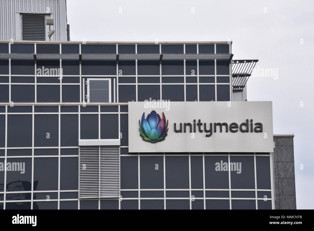 Service Wire Company | 10 May 2018 Germany Cologne The Logo Of Cable Company Unitymedia