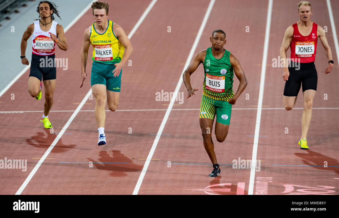100m final commonwealth games 2018