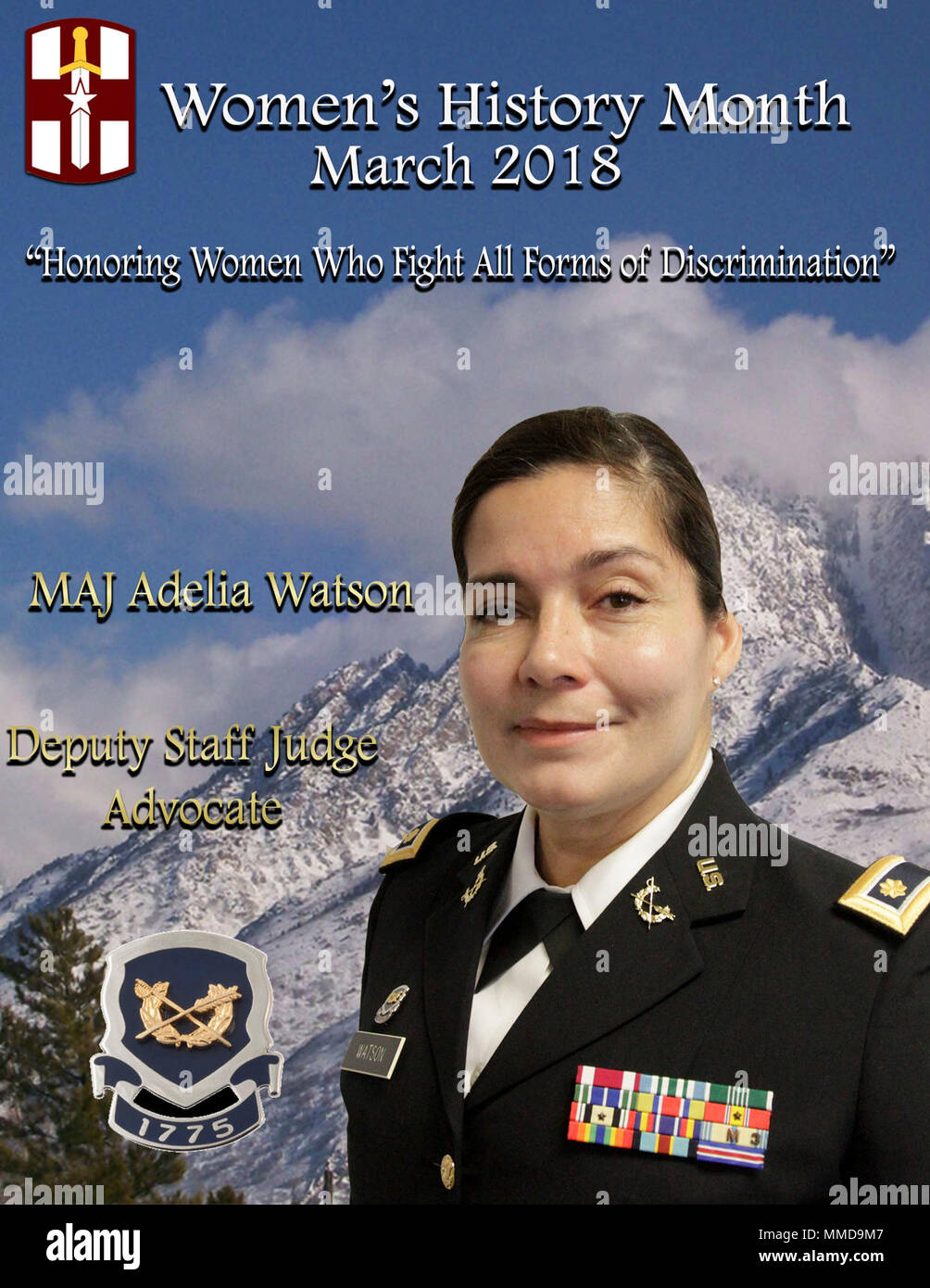 A military woman who was most influential to me in my career