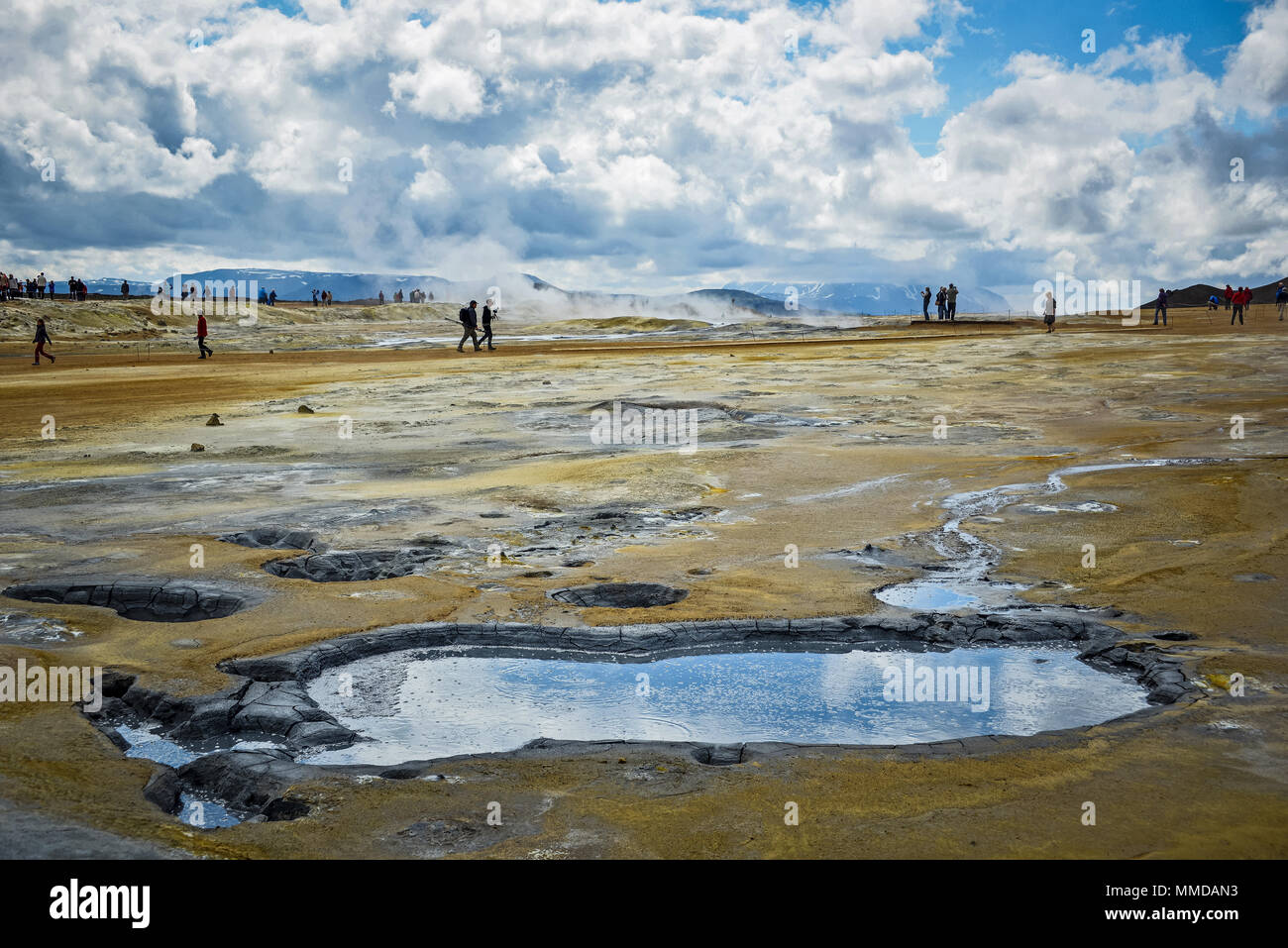 Iceland Landscape view - Stock Image