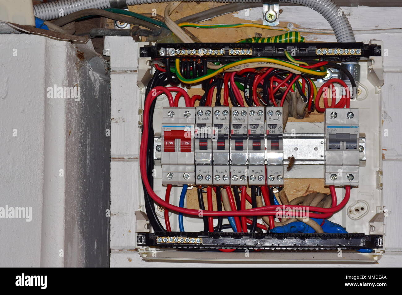 fusebox open stock photo 184693442 alamy rh alamy com open fuse box prius open fuse box bmw 1 series