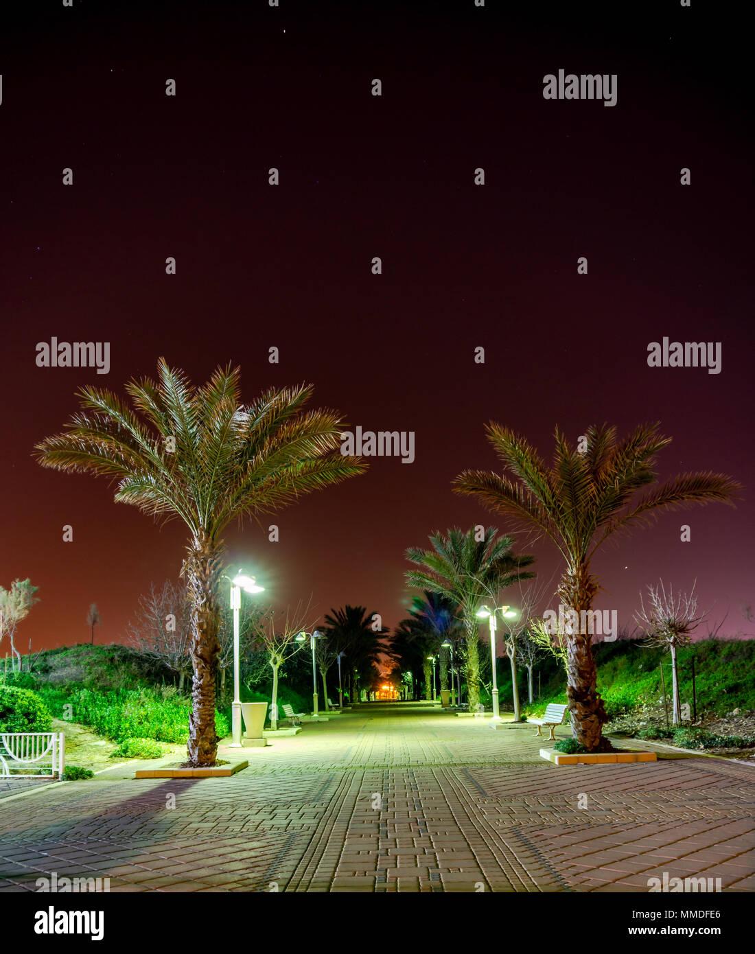 Nahariya (Israel): an oasis in the greenery
