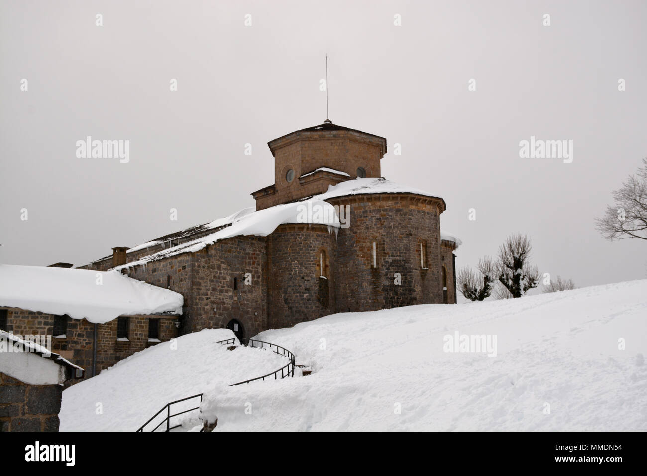 San Miguel de Aralar Sanctuary, Navarre - Stock Image