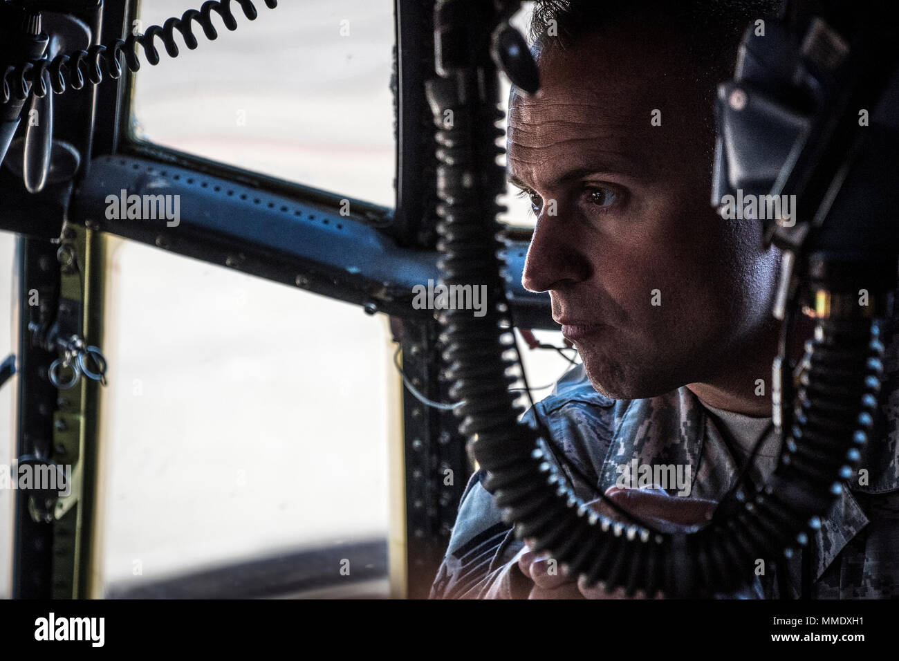 Master Sgt  Zachary Michalski, a maintainer with the 179th Airlift