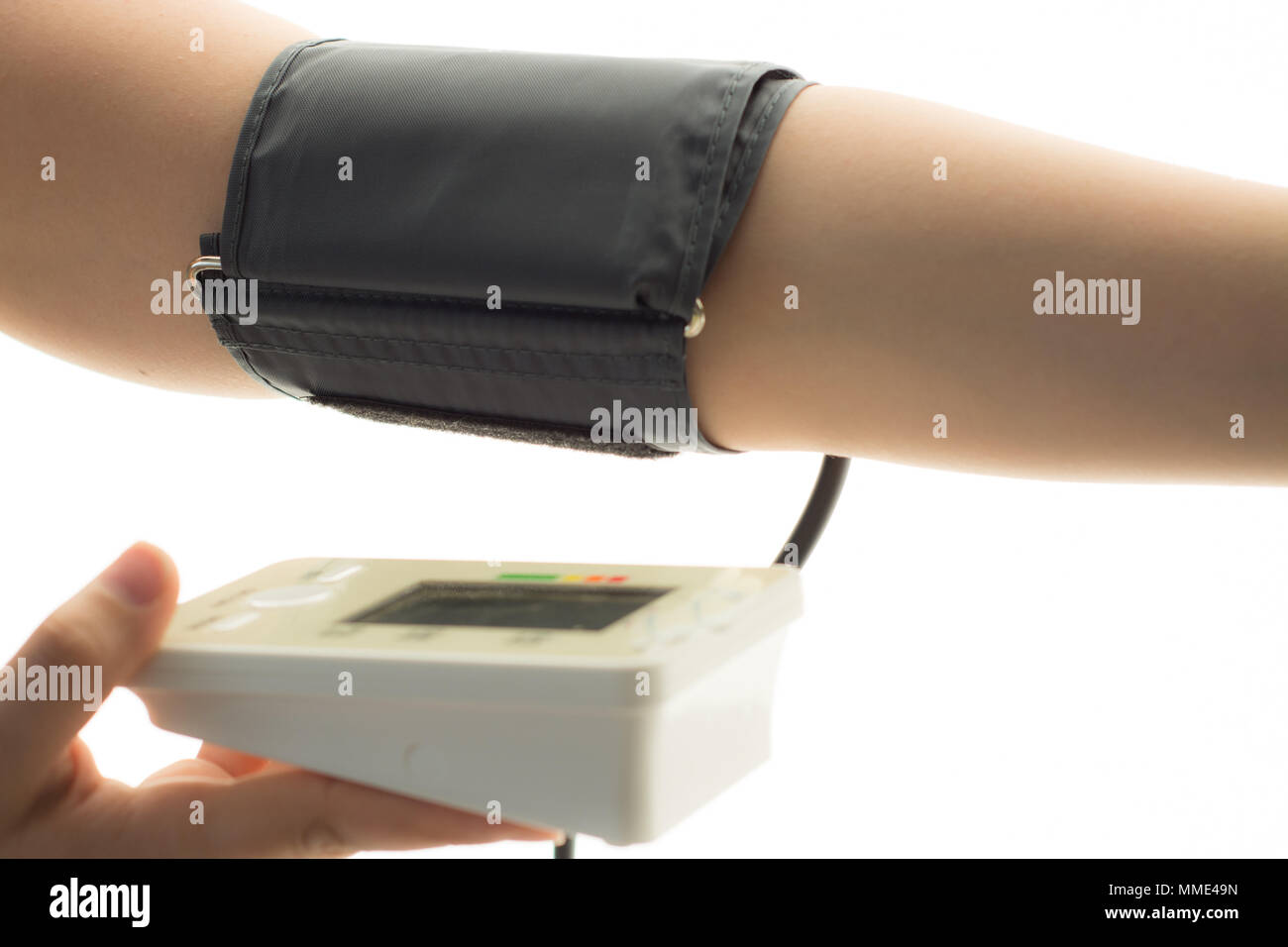Blood Pressure Check - Stock Image