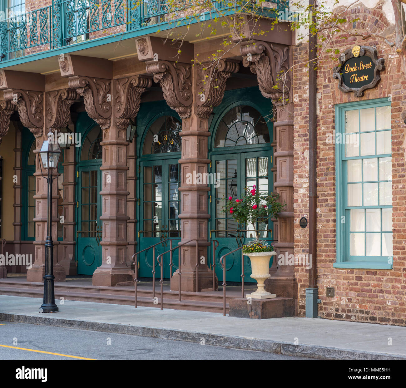 Historic Charleston, South Carolina - Stock Image