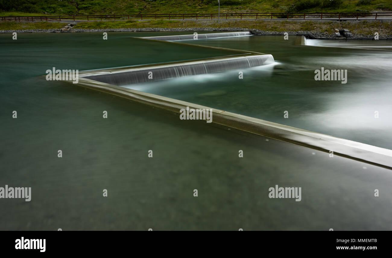 Norway - Trollstigen - Stock Image