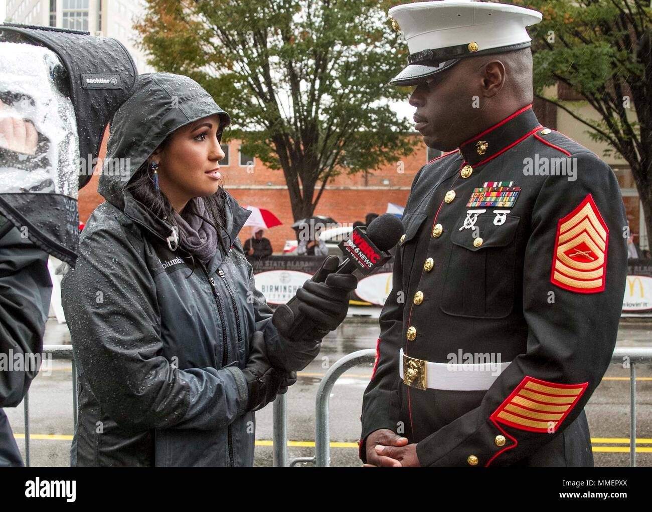 Master Sergeant Damian Cason, the Marine Corps Recruiting