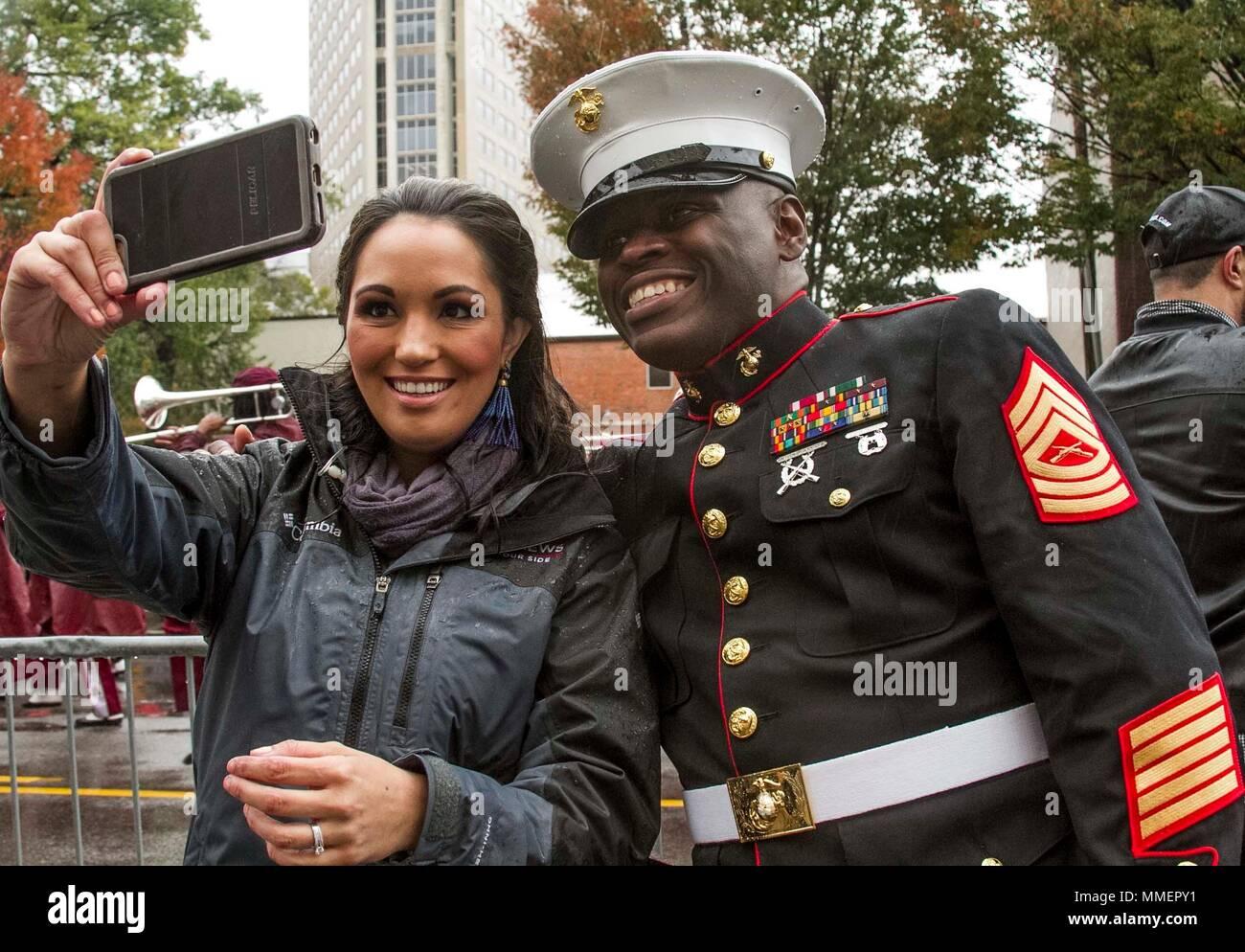 Master Sergeant Damian Cason, the Marine Corps Recruiting Command