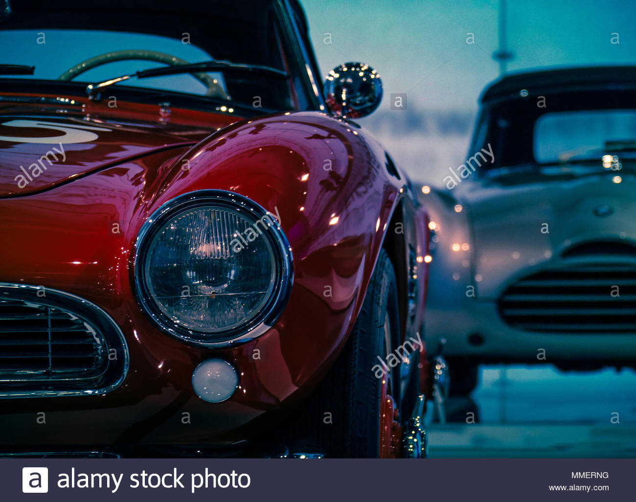 BMW oldtimers in the museum. - Stock Image