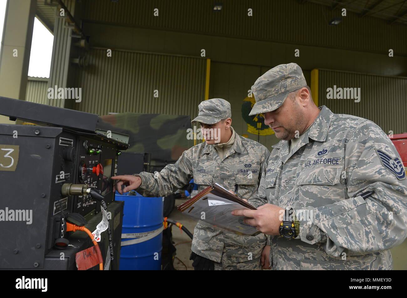 U S  Air Force Tech  Sgt  James Kamrar, 1st Combat