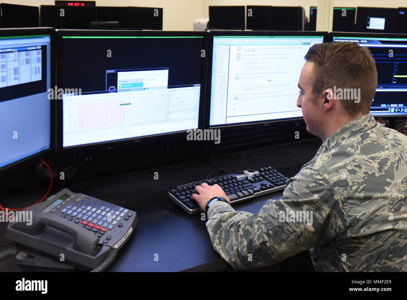 First Lt  Skyler Awisus, 50th Operations Support Squadron Simulation