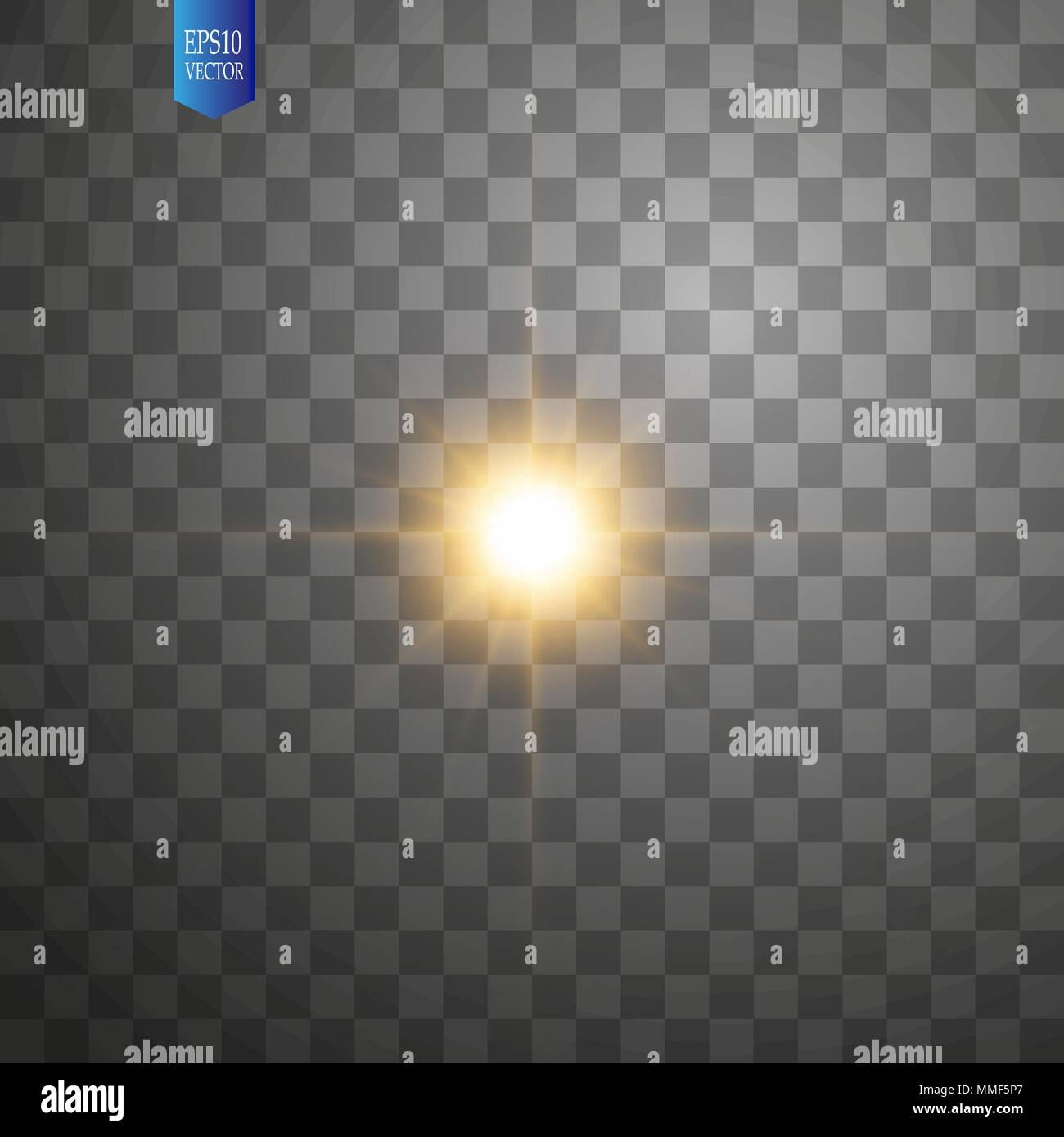 White Glowing Light Burst Explosion On Transparent Background
