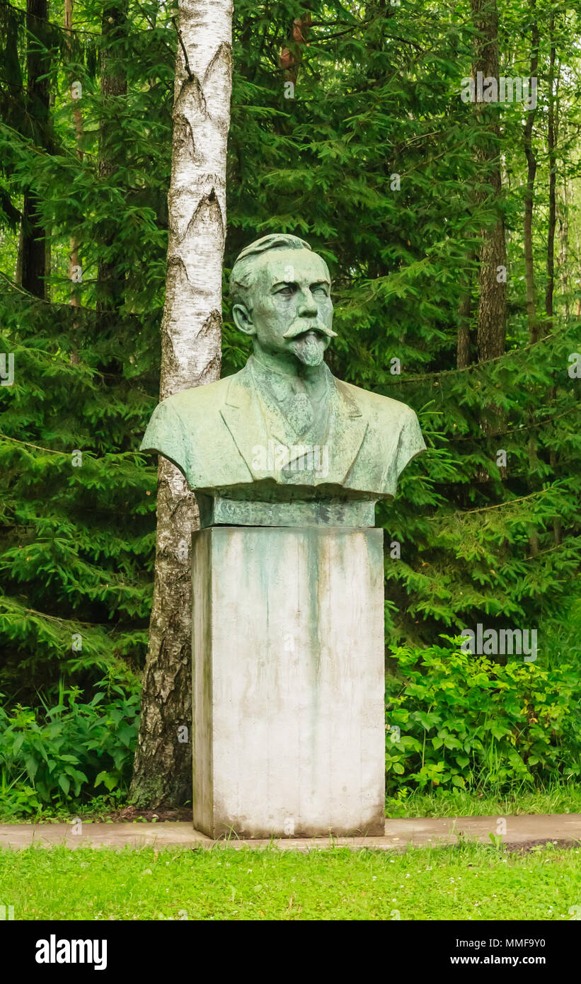 Monument To Mickevicius Kapsukas Grutas Park Lithuania