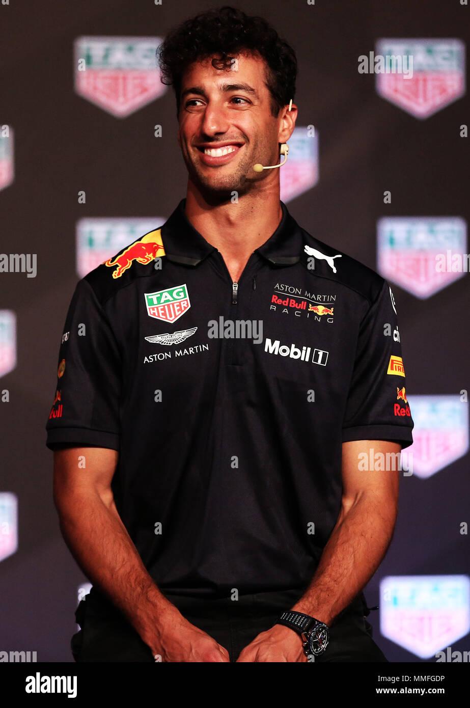 Barcelona -10th May 2018- SPAIN: Daniel Ricciardo during the Aston Martin Red Bull Racing TAG Heuer, in Barcelona, on 5th May 2018. Photo: Joan Valls/Urbanandsport/Cordon Press - Stock Image