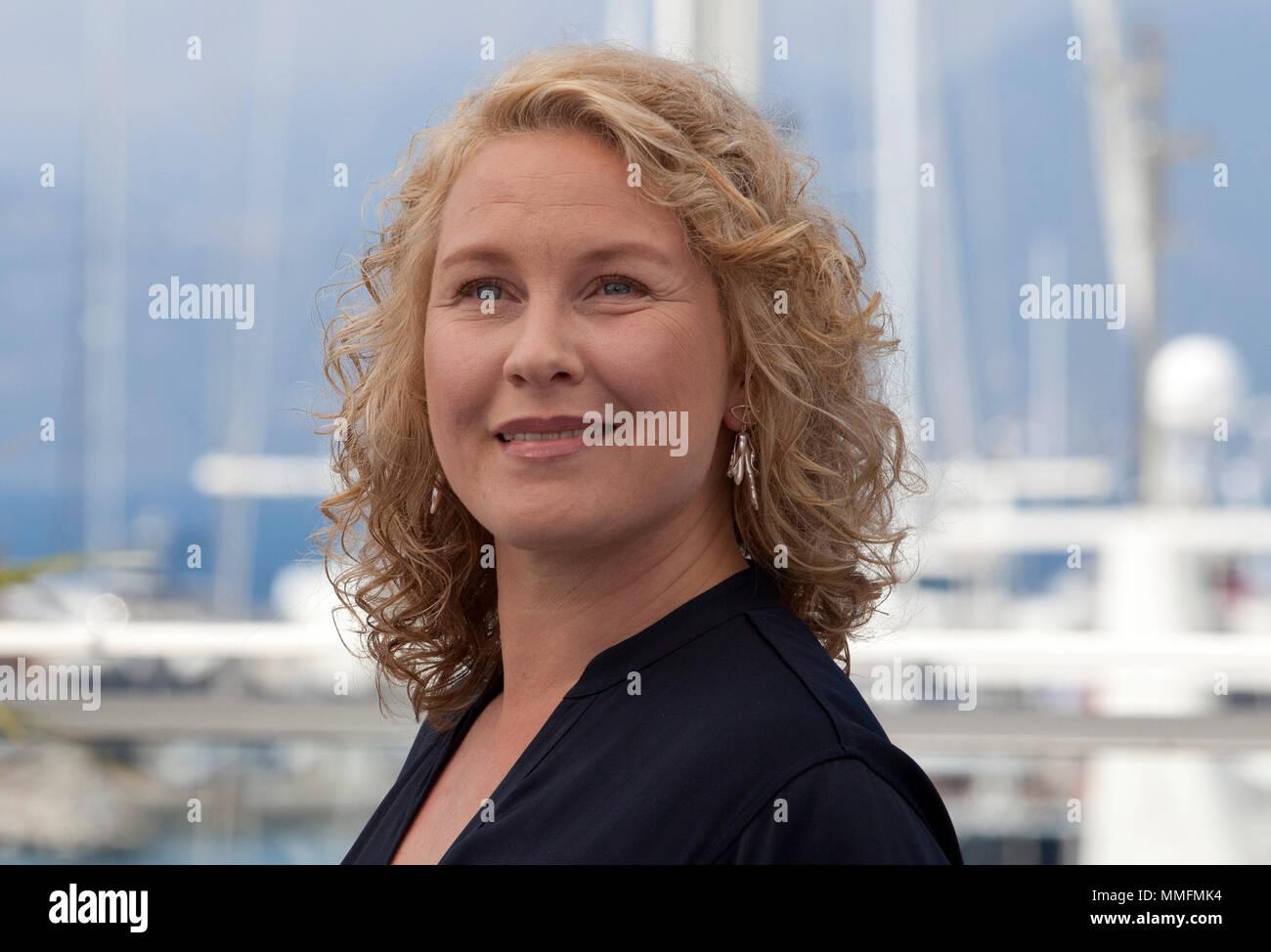 Actress Eva Melander At The Grans Border Film Photo Call 71st Cannes Festival Friday 11th May 2018 France