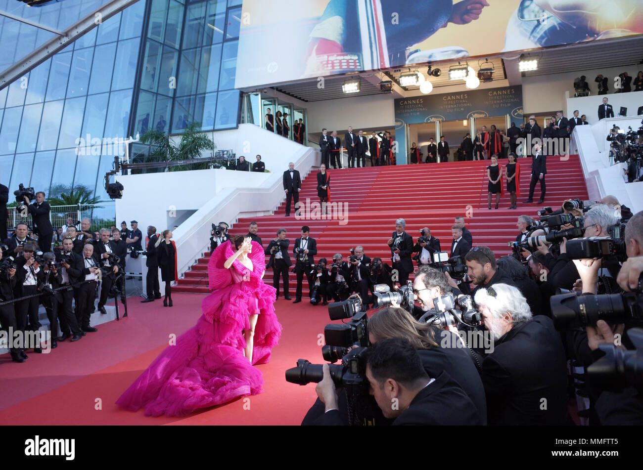 Cannes, France. May 11, 2018 - Cannes, France: Deepika Padukone attends the 'Ash is the Purest White' premiere during the 71st Cannes film festival. Credit: Idealink Photography/Alamy Live News Stock Photo