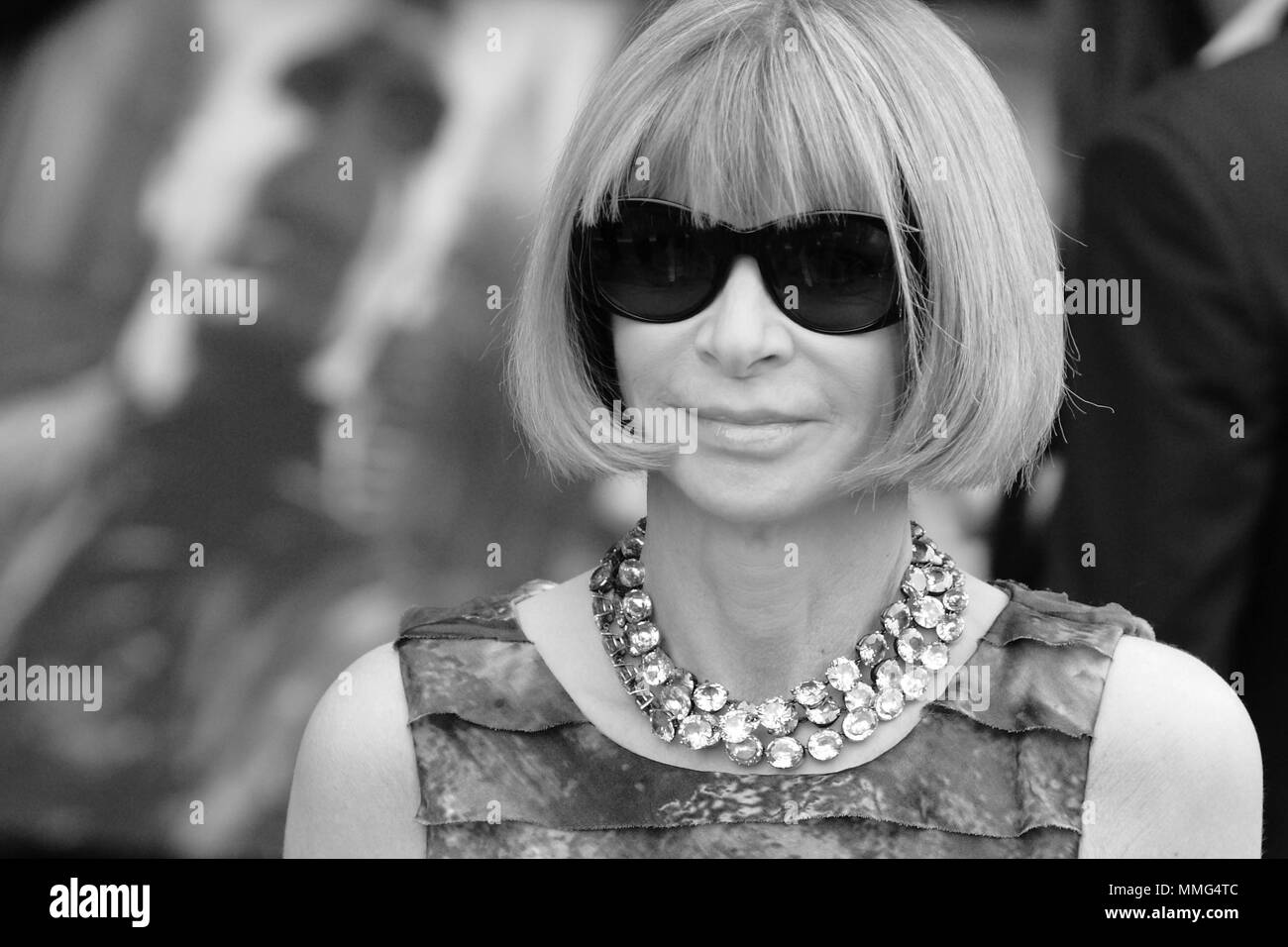 UK - Entertainment - Anna Wintour at the UK Film Premiere of HARRY POTTER AND THE DEATHLY HALLOWS - PART 2, Trafalgar Square, London 7 July 2011 - Stock Image