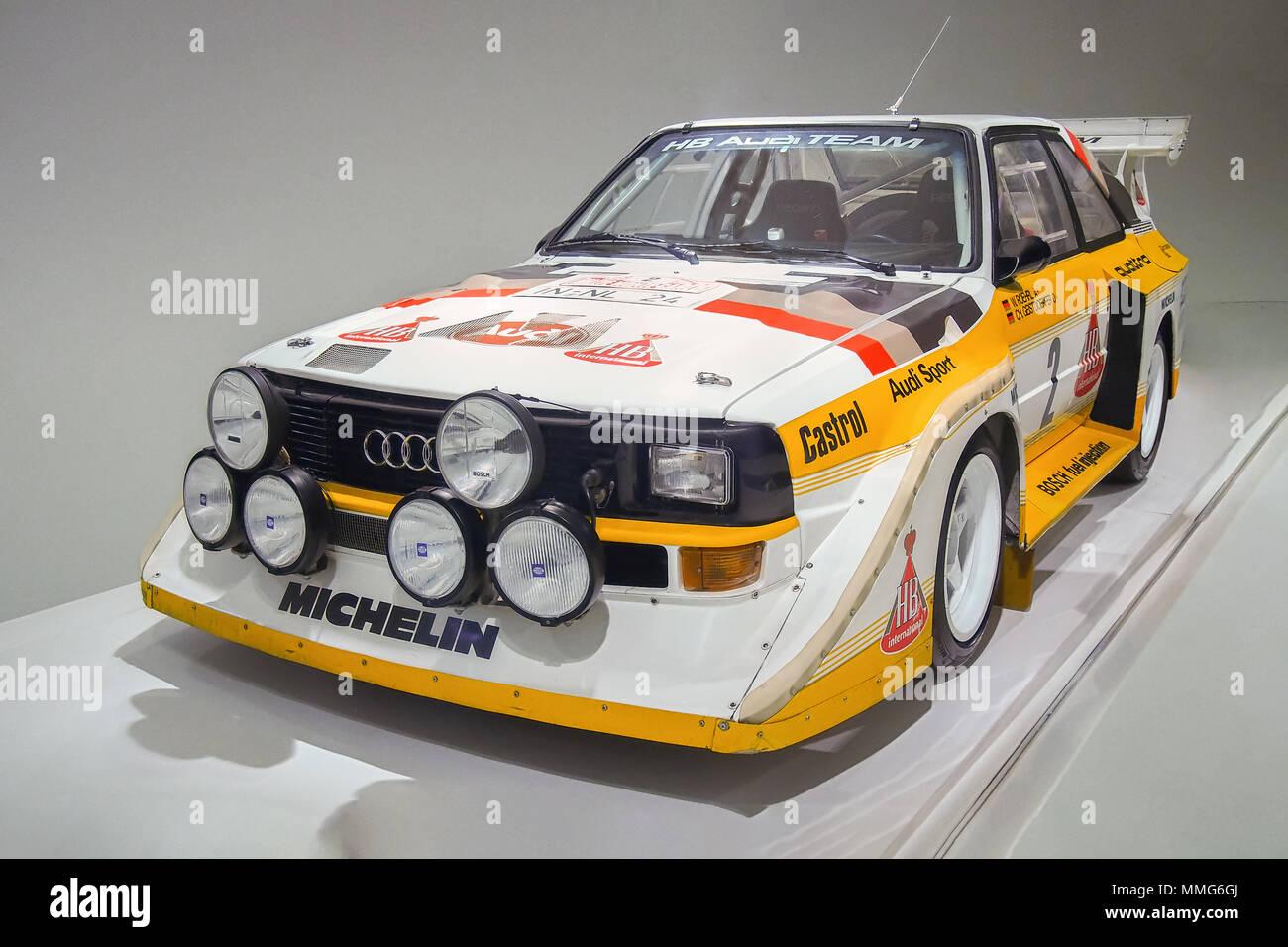 Audi Group B Car Stock Photos Audi Group B Car Stock Images Alamy - Walter audi