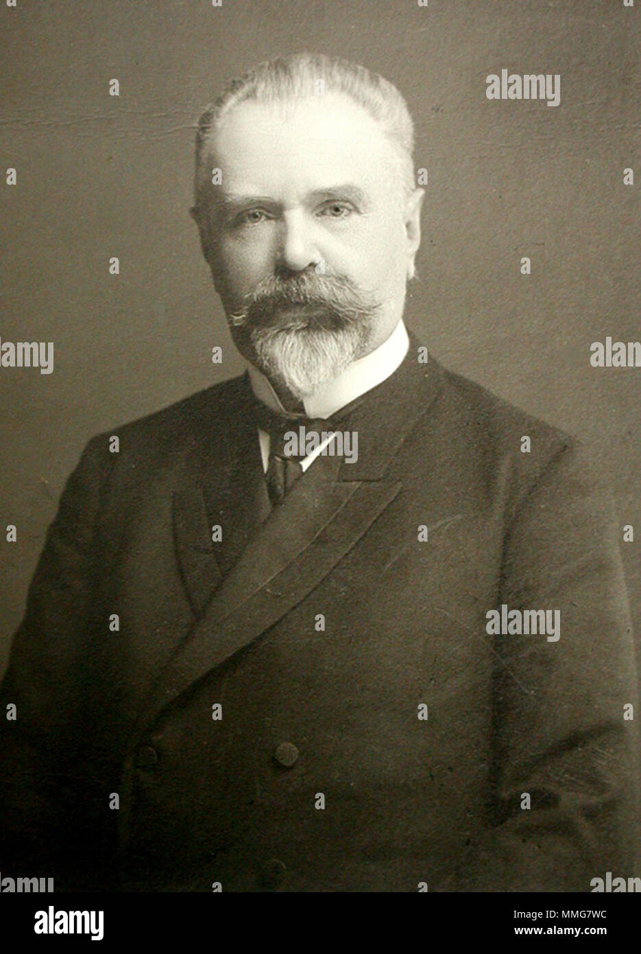 Baron Boris Vladimirovich Stürmer (1848 – 1917), he served as Prime Minister, and Minister of Internal Affairs and Foreign Minister of the Russian Empire - Stock Image