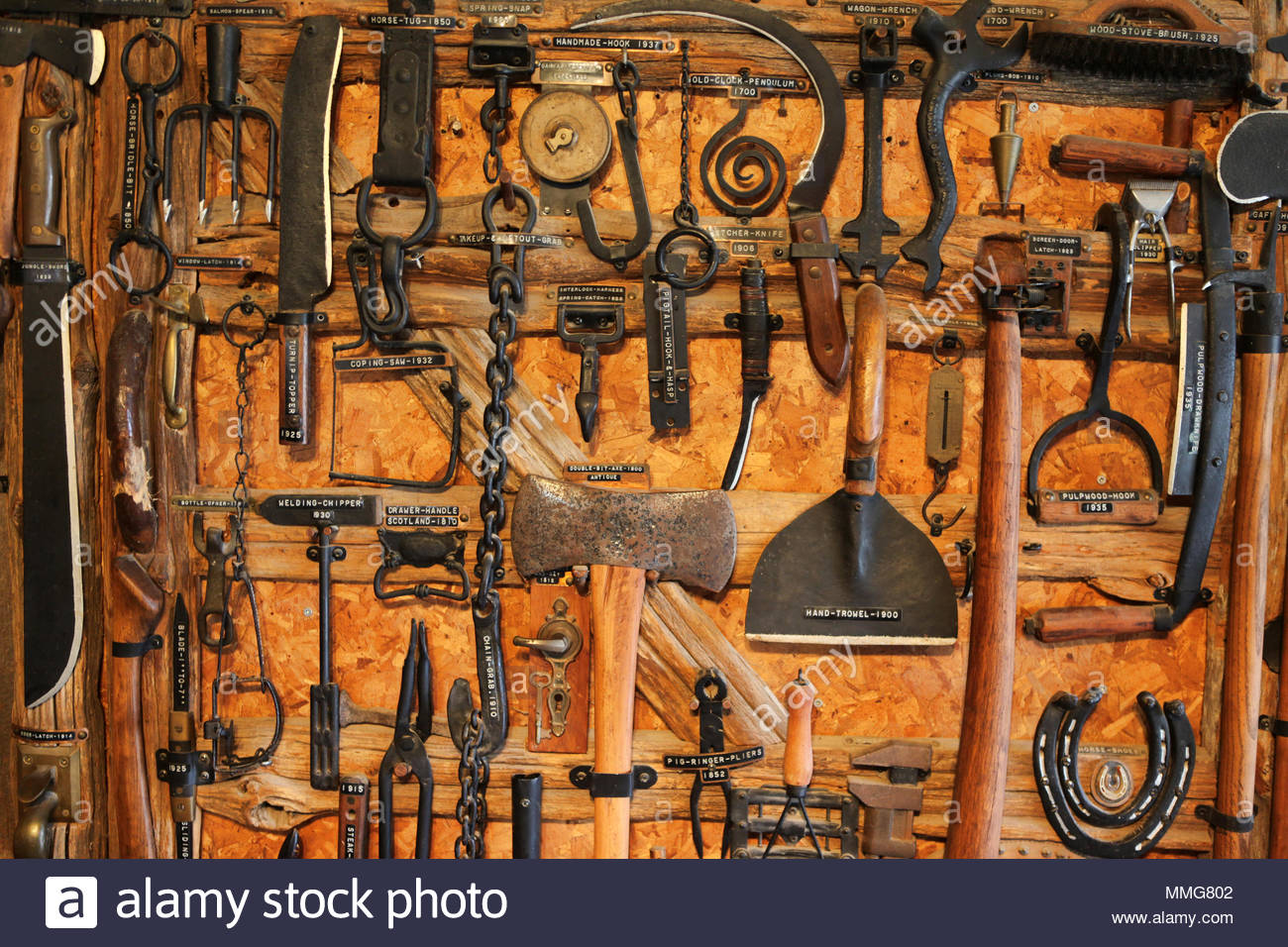 Antique Farming Tools High Resolution Stock Photography And Images Alamy